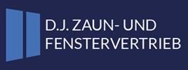 D.J. Zaun- und Fenstervertrieb Logo ohne Slogan