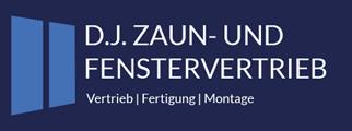 dj-zaun-fenstervertrieb.de Logo