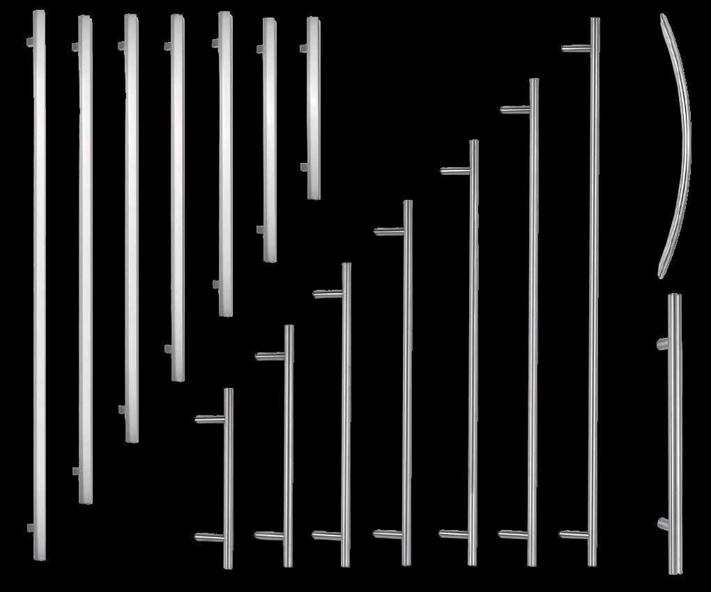 Griffe für Aluminiumtüren