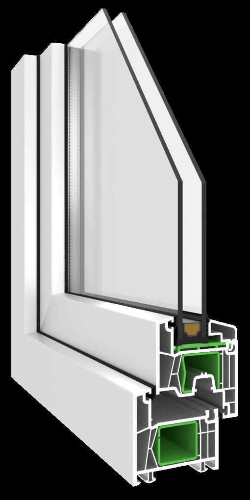 2-fach Verglasung Fenster