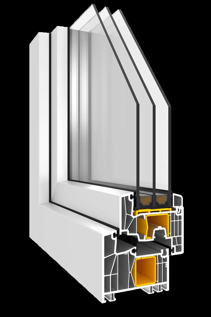 3-fach Verglasung Fenster