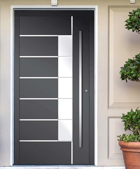 Hauseingangstüren aus Aluminium