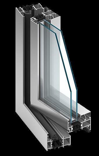Aluminiumfenster MB70