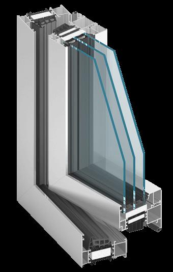 Aluminiumfenster MB86