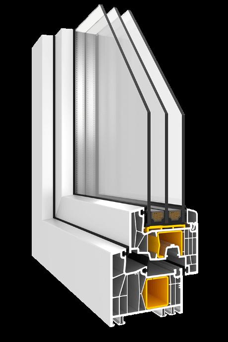 Kunststofffenster Impresivo KN3