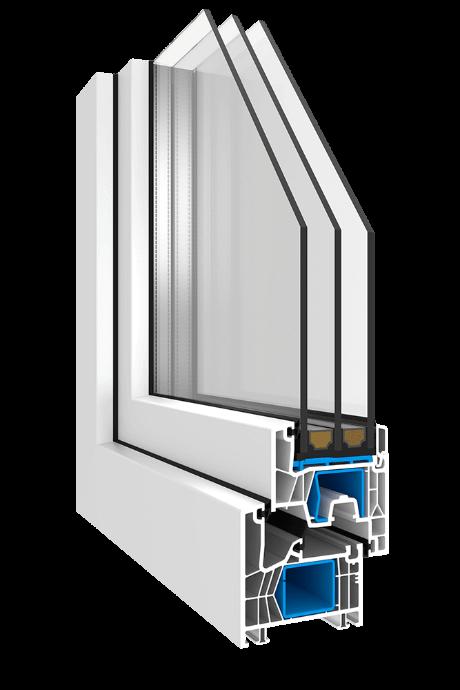 Kunststofffenster Optico KN2