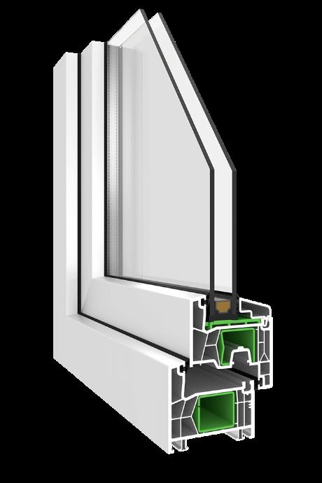 Kunststofffenster Simplo KN1